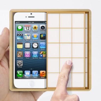 障子iphoneケース1